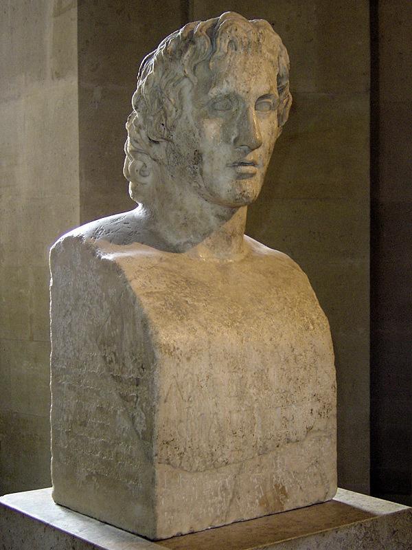 Римско копие на произведението на Лизип, една от най-достоверните работи за външността на Александър Македонски Sting [CC BY-SA 2.5 (https://creativecommons.org/licenses/by-sa/2.5)], via Wikimedia Commons