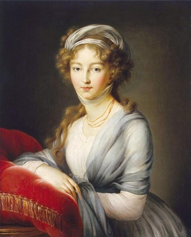 Руската царица Елизавета Алексеевна