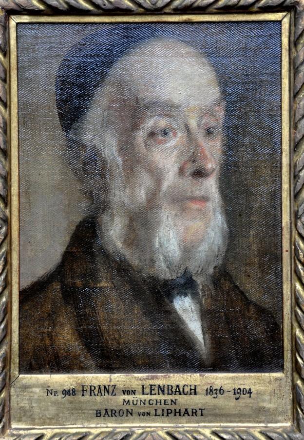 Барон Карл Едуард фон Липгарт (1808—1891) - доктор по  медицина, колекционер и познавач на историята на изкуствата