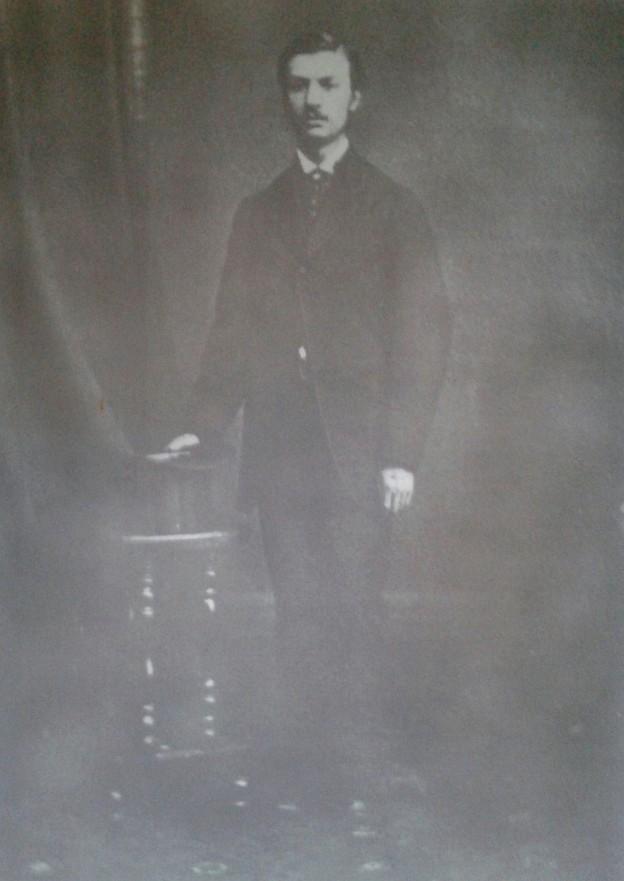 Иван Гешов през 1874 година