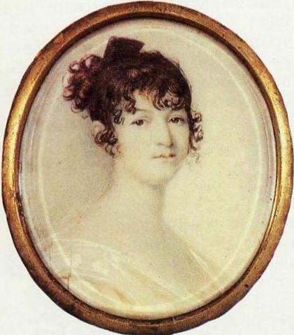 Надежда Осиповна Пушкина, майка на руския поет Александър Пушкин