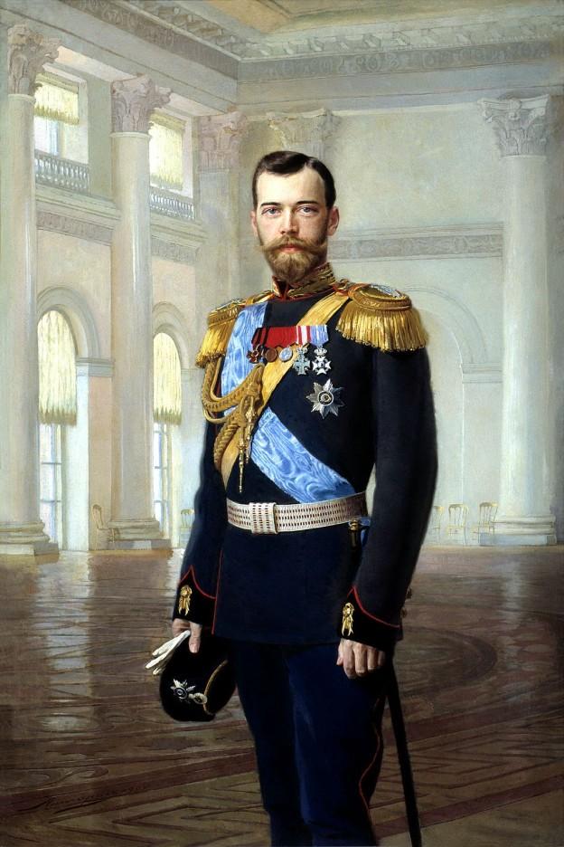 Цар Николай II художник: Ернст Карлович Липхарт