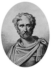Плиний Стари - въображаем портрет от 19 век източник: Уикипедия