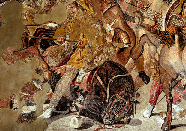 konnik kon alexander makedonski mozaika pompeii