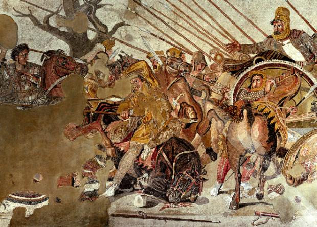 mozaika alexander makedonski