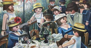 """Le déjeuner des canotiers"" Pierre-Adrien Sollier  източник: Facebook/Pierre-adrien sollier"