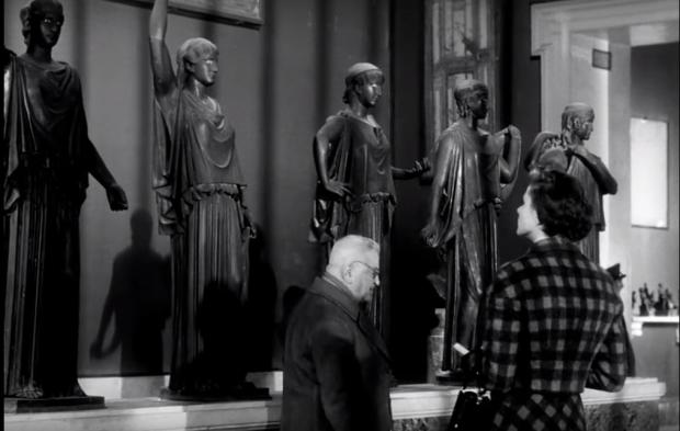 """кадър от филма """"Пътуване в Италия"""", 1954"""