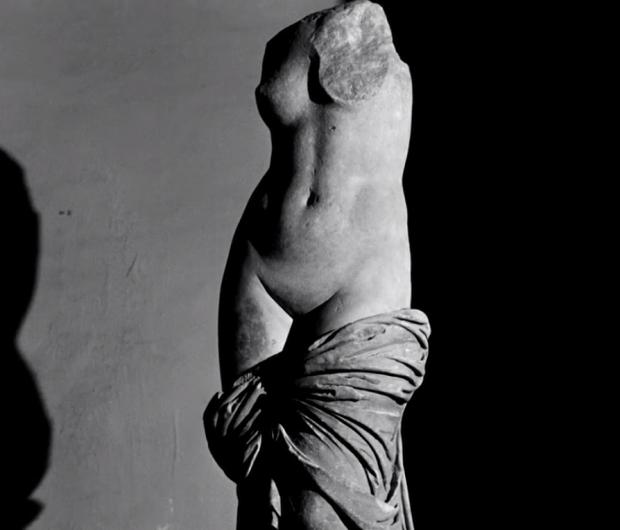 """Венера  кадър от филма """"Пътуване в Италия"""", 1954"""