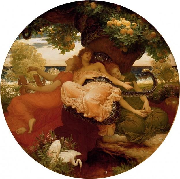 Градината на хесперидите (1892) Фредерик Лейтън