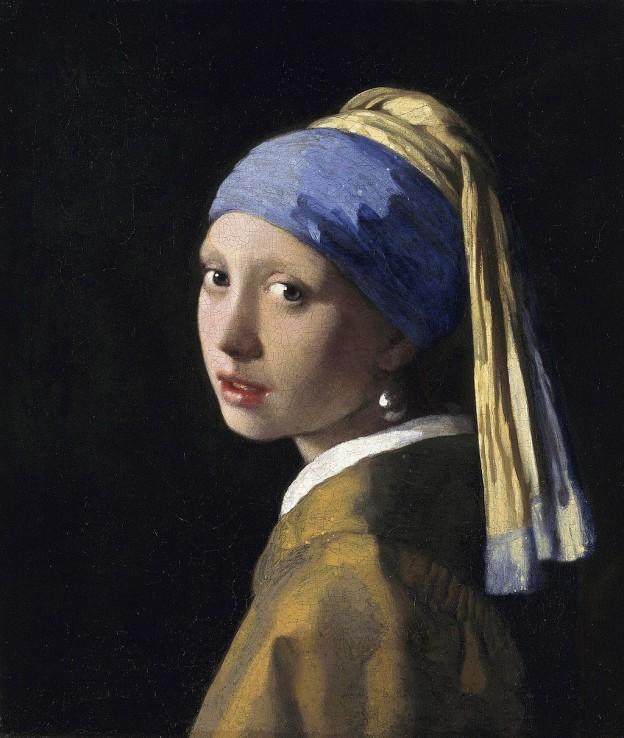 """""""Момичето с перлената обица"""" художник: Йоханес Вермеер"""