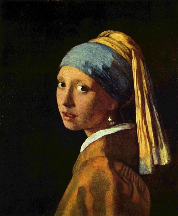 """""""Момичето с перлената обица"""" художник: Йоханес Вермеер ван Делфт"""