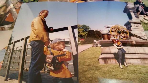 Ники с тати и мама около 2001 г.