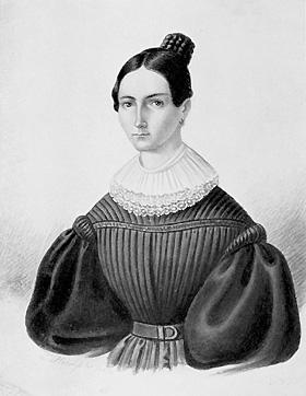 Дъщерята на Гаус Терезе (1816 – 1864)