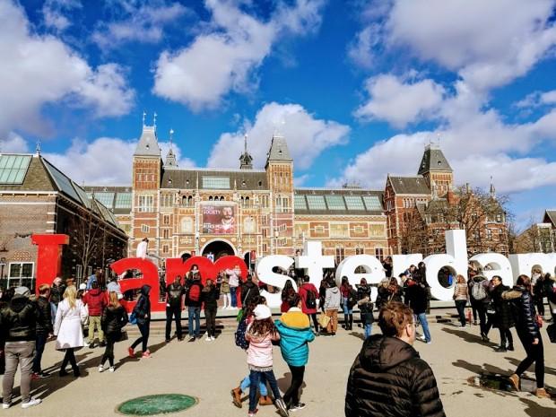 В Амстердам до известния надпис