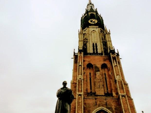 Кулата на Новата църква в Делфт
