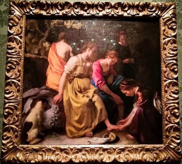 mauritshuis hague 15 vermeer diana i sputnici