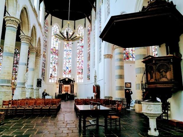 В Старата църква в Делфт