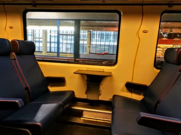 Във влака от Айндховен за Делфт