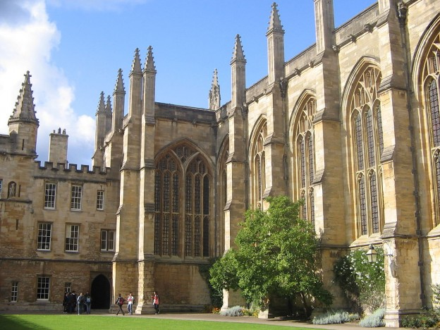 New College Oxford By Olaf Davis [Public domain], from Wikimedia Commons