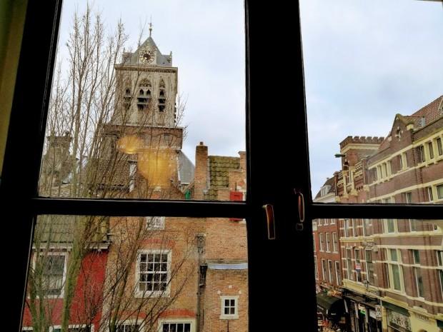 Гледката към Градския съвет на Делфт