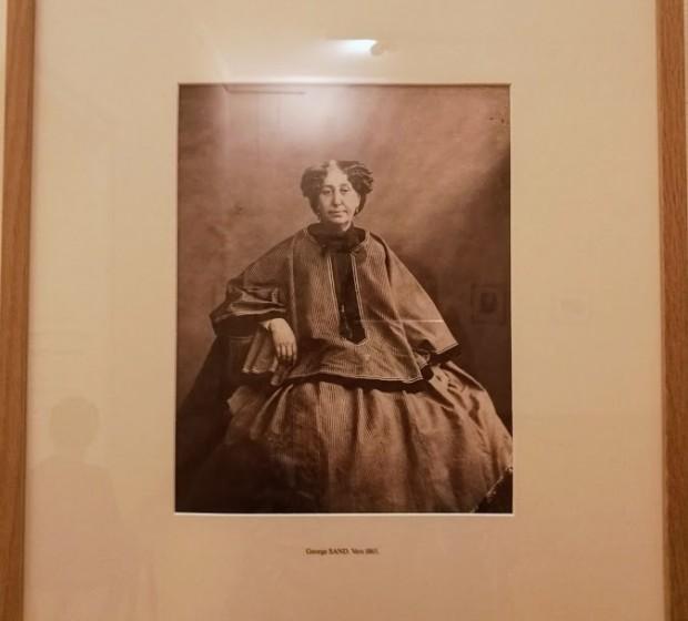 Жорж Санд, ок. 1865 г.