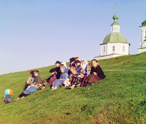 Руски деца фотограф: Сергей Прокудин-Горски