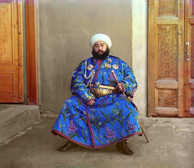 Алим-Хан (1880 – 1944), емир на Бухара фотограф: Сергей Прокудин-Горски