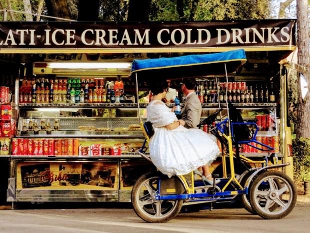 rome sladoled bulka