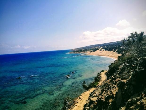 Плажът Агианис на остров Гавдос