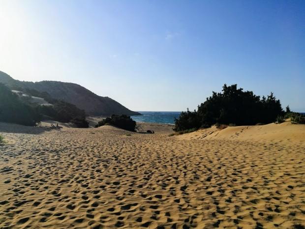 Плажът Агиянис на остров Гавдос