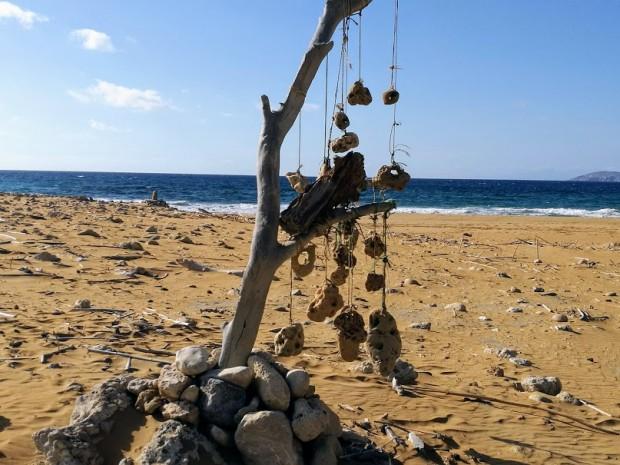 Съоръжение на плажа Потамос