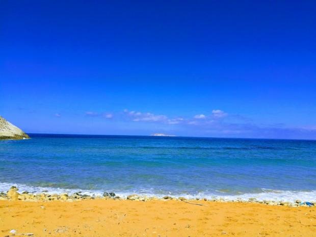 Морето край плажа Потамос