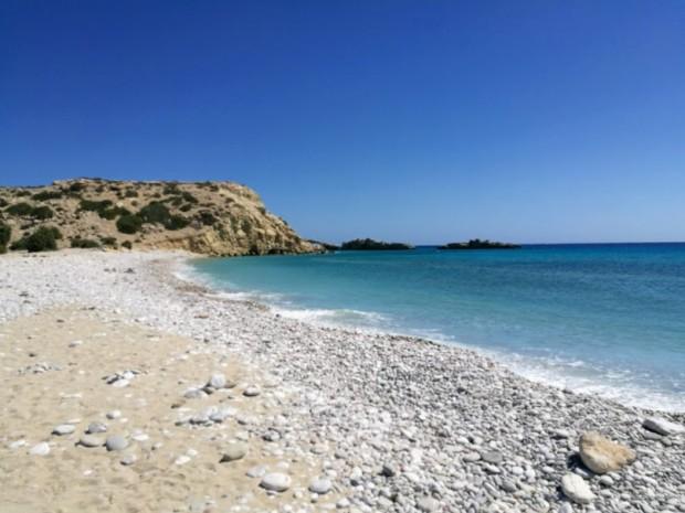 Скалите около плаж Трипити на остров Гавдос