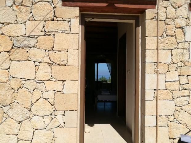 Входната врата на стаята ни