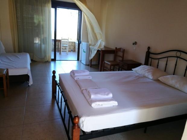 Стаята ни на остров Гавдос