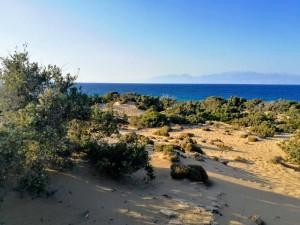 gavdos agiannis plaj more zelenina