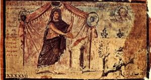 """Ръкопис на """"Илияда"""" от 5 век източник: Уикипедия"""