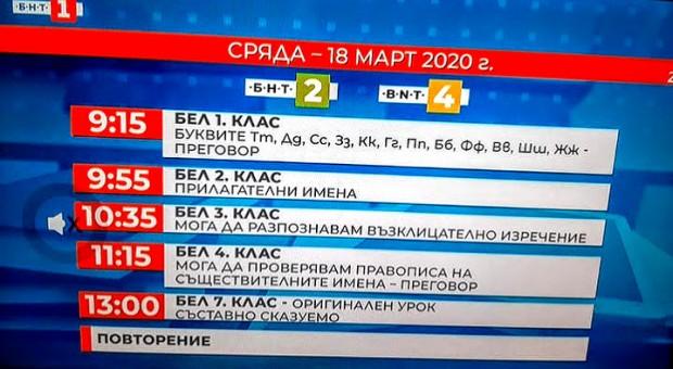 bnt programa 18 mart 2020 2
