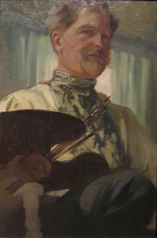 Автопортрет на Алфонс Муха (1907)