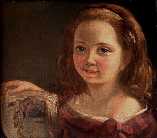 Ада Байрон на 7 години