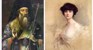 Софроний Врачански и графиня Анна дьо Ноай