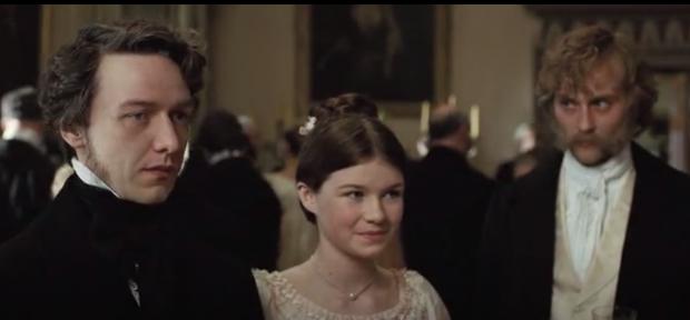 """Том Лефрой с голямата си дъщеря Джейн във филма """"Да бъдеш Джейн"""""""