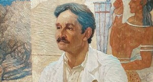 Портрет на сър Артър Евънс от Уилям Ричмънд от 1907 г. (обработен)