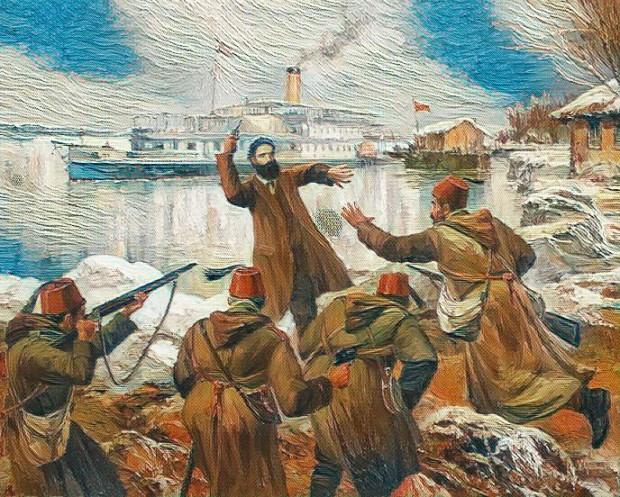 """""""Да живее България!"""" изрича Ангел Кънчев на 5 март 1872 г."""
