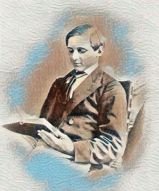 Младият сър Артър Евънс
