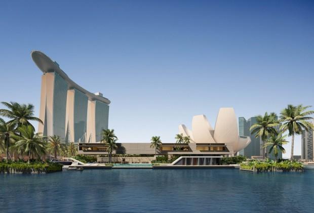 Плаващата вила на SAOTA в Сингапур https://www.saota.com/