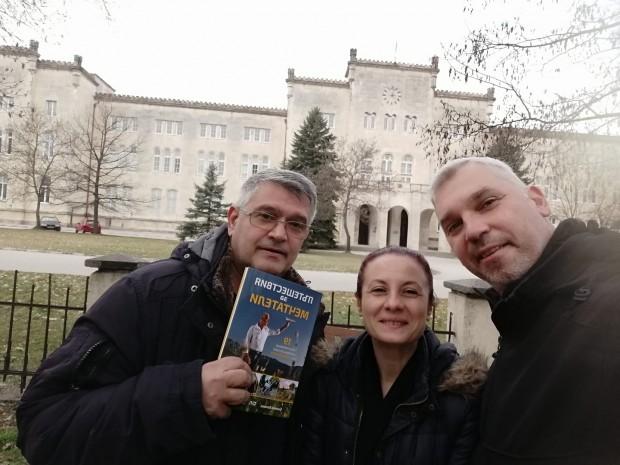 """Биляна Бонева: VIP премиера на """"Пътешествия за мечтатели"""" с прекрасния режисьор и приятел Недислав Николов"""