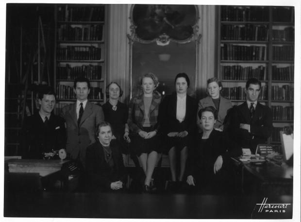 File5-17-Library staff circa 1940 resized