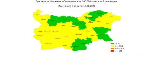 Карта от анализа на проф. Витанов