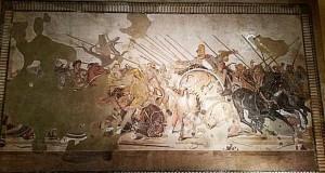 aleksander makedonski mozajka pompeii neapol musej